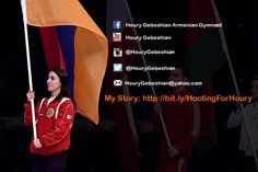 Hi everyone! My name is Houry Gebeshian and Ihave made historyby becoming the FIRSTfemale gymnast to represent the Republic of Armenia in the Olympic Games!I am a proud Armenian-American and lifelong gymnastics enthusiast and I've always had the dream of competing in the Olympics. In honor of...