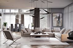 design and visualization cottage Home Living Room, Interior Design Living Room, Living Room Designs, Living Room Decor, Living Spaces, Living Room Inspiration, Apartment Design, Luxury Living, Luxury Interior