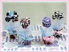 Linda Walsh Originals Dolls and Crafts Blog: My Free Baby Celebration Flowers Baby Shower Centerpeice Decorations E-Pattern