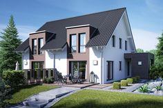 Doppelhaus Gemello SD 136 | Fertighaus | Doppelhäuser