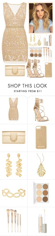 """45"" by enchantedmist ❤ liked on Polyvore featuring Nicole Miller, Post-It, Steve Madden, Salvatore Ferragamo, MICHAEL Michael Kors, Kenneth Jay Lane, Hueb, Accessorize, PUR and Forever 21"