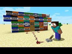 RISKIEST TNT BASE in Minecraft! - YouTube