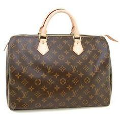 The Louis Vuitton Speedy, classic style