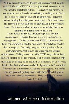 PTSD - and never compare yourself to others. Everyone has different coping skills. Everyone has a story that is their own. Signs Of Depression, Stress Disorders, Mental Health Disorders, Anxiety Disorder, Mental Health Facts, Mental Health Journal, Ptsd Recovery, Depression Recovery, Mental Illness