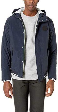 Men's Padded MA-1 Jacket (Grey, Medium) at Amazon Men's Clothing store Ma 1 Jacket, Nylon Bomber Jacket, Gray Jacket, Jacket Men, Golf Jackets, Men's Coats And Jackets, Outdoor Jackets, Trench Coat Men, Biker Leather