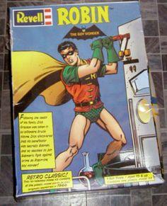 Batman Robin Model Revell 1999 New #collectibles #batman #modelkits #toys