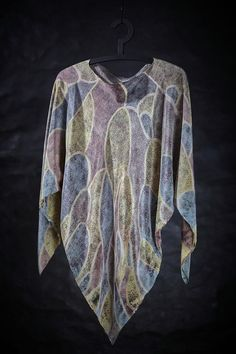Fabric Bell Sleeves, Bell Sleeve Top, Cover Up, Textiles, Artist, Fabric, Tops, Dresses, Women