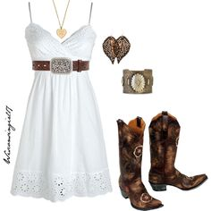 """""""She's a hot mess in a sundress"""" by wisconsingirl17 on Polyvore"""