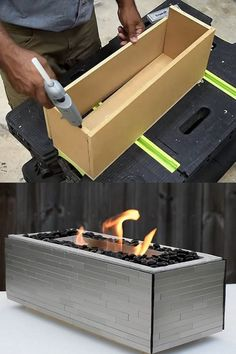 24 backyard outdoor fire pit ideas such as DIY in ground fire pits, best kits & designs for wood burning fire pit tables & grills, concrete fire bowls, etc! – A Piece of Rainbow #backyard #patio #outdoor #spring #summer #homestead #homesteading #diy #gardens #gardendesign #gardenideas #landscaping #landscape landscaping, landscape design, garden party, entertaining outside Dyi Fire Pit, Cool Fire Pits, Garden Fire Pit, Wood Burning Fire Pit, Fire Pit Backyard, Backyard Patio, Fire Fire, Fire Pit Pizza, Fire Pit Grill
