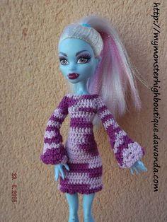 Vestido para Monster High v309 de My Monster High boutique por DaWanda.com
