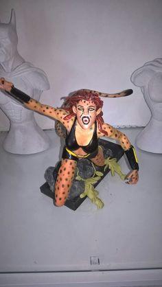 Cheetah . Moje druhá soška . My second statue