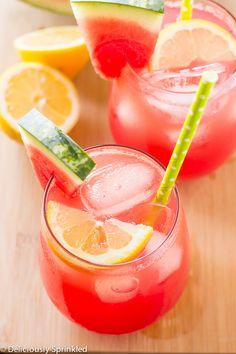 Watermelon Lemonade FoodBlogs.com