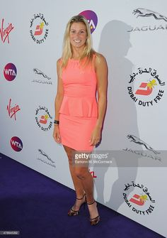 Andrea Hlavackova attends the annual WTA Pre-Wimbledon Party presented by Dubai Duty Free at The Roof Gardens, Kensington on June 25, 2015 in London, England.