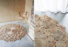 hemp rugs from Australian company Armadillo & Co.