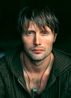 Mads Mikkelson - hottie HANNIBAL is one of my new fav's.