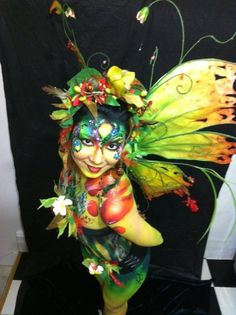 Fairy costume. Bakki Boo on Facebook with Wendy Fantasia Melbourne Aust. Tags: Fable Workshop -'Butterfly Dreaming'