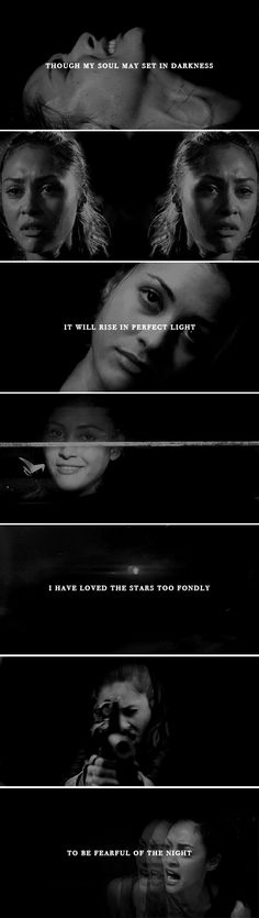 Raven Reyes: I have loved the stars #the100