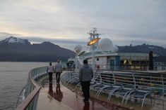 deck 13 - Radiance of the seas and the view of the majestic Milford Sounds- part one Behind The Sea, Royal Caribbean Ships, Maori People, Milford Sound, Seas, The Locals, Mists, Things That Bounce, Traveling By Yourself