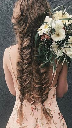 Wedding season is underway and this two fishtail braid is the cutest look for the bride or bridesmaids@lindseypengelly