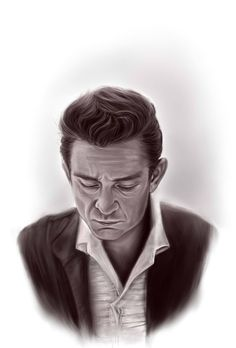 Johnny Cash Art Works (Paintings and Drawings) Johnny Cash Tattoo, Johnny Cash Quotes, John Cash, Johnny Cash Museum, Johnny Cash June Carter, Music Album Covers, Music Magazines, Tattoo Sleeve Designs, Animal Design