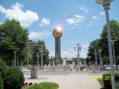 World's Fair Park,Knoxville Tn  by Marcia Thomas