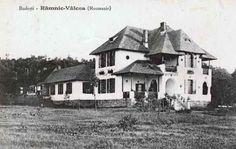 BU-F-01073-5-03364 Conacul Familiei Lahovari din Budeşti, Râmnicu Vâlcea, s. d. (sine dato) (niv.Document) Romania, Cabin, Mansions, House Styles, Home Decor, Decoration Home, Manor Houses, Room Decor, Cabins