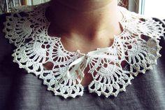 diy lace collar