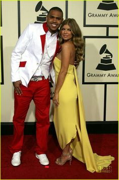 Fergie and chris brown