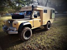 camper Land Rover Serie 1, Off Road Adventure, Expedition Vehicle, Campers, Offroad, Recreational Vehicles, 4x4, Trucks, Rv