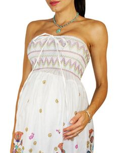 Mothers en Vogue Tara Nature Fantasy Maternity Dress / Nursing ...