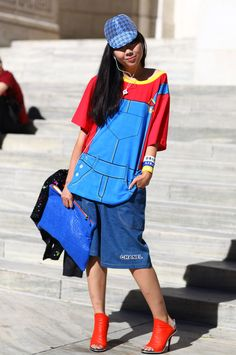 #fashion-ivabellini Susie Bubble in House of Holland   Street Fashion   Street Peeper   Global Street Fashion and Street Style