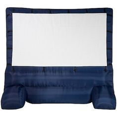 Projection Screens and Material: Outdoor Movie Projection Projector Portable Home Theater Inflatable Screen 12X12 BUY IT NOW ONLY: $217.38