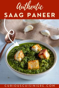Saag paneer (and palak paneer) are vegetarian Indian dish made of curried greens and fried paneer cheese. You've likely come across the dish at your favorite Indian restaurant, but now's the time to try making authentic saag paneer at home!