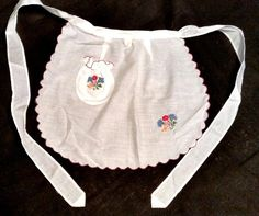 Apron Hungarian embroidered Vintage Folk by FaberGreaves on Etsy