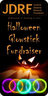 Diabetic Fundraiser!! :) glow sticks instead of candy! This is a great price and supports a great cause.
