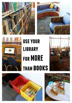 7 favorite things to do at your local library, besides check out books.