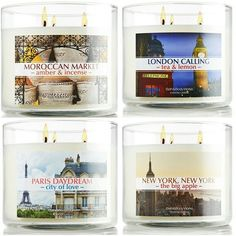New York candle favor