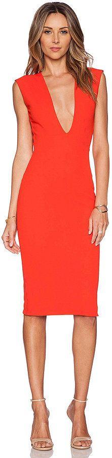 Solace London Grace Knee Length Dress ($179)