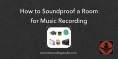 Room too loud to record in silence? In this post i reveal the top affordable tricks to soundproofing a room for music recording.