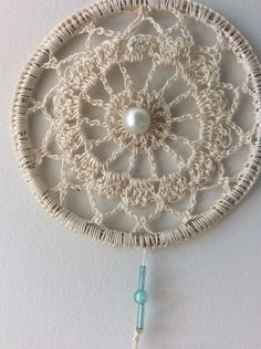 Indian Arts And Crafts, Dreamcatchers, Doilies, Crochet Earrings, Couture, Jewelry, Dream Catchers, Making Dream Catchers, Weird Things