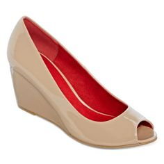 CL by Laundry Natashia Peep-Toe Wedge Pumps  found at @JCPenney