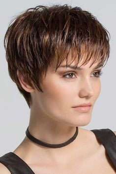 Scape by Ellen Wille Wigs - Hand Tied, Monofilament Crown, Lace Front Wig - kurzhaarfrisuren Haircut For Older Women, Haircut For Thick Hair, Short Pixie Haircuts, Short Hairstyles For Women, Layered Hairstyles, Celebrity Hairstyles, Pixie Haircut Styles, Hairstyles 2016, Men's Hairstyle