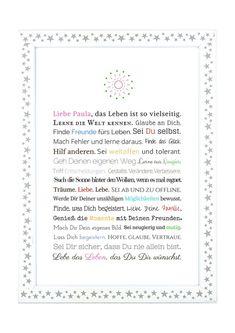 Gastgeschenke   Geschenk Konfirmation Kommunion Jugendweihe ♀   Ein  Designerstück Von Frau Soth Bei DaWanda