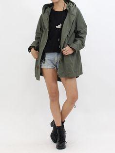 ミリタリーモッズコート|NIZIIRO(ニジイロ) / NIZIIRO ONLINE STORE #ファッション  #レディース #fashion #ミリタリー #モッズコート