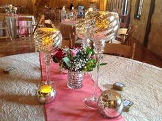Mercury Goblet Decor Rental