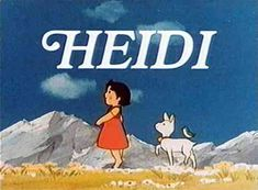 Heidi...was verslaaf!! Illustration by Jessie Willcox Smith by Johanna Spyri's Heidi.