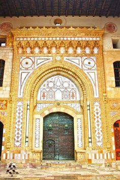 Ancient door of #Beiteddine Palace - by Jack Sakabedoyan #Lebanon