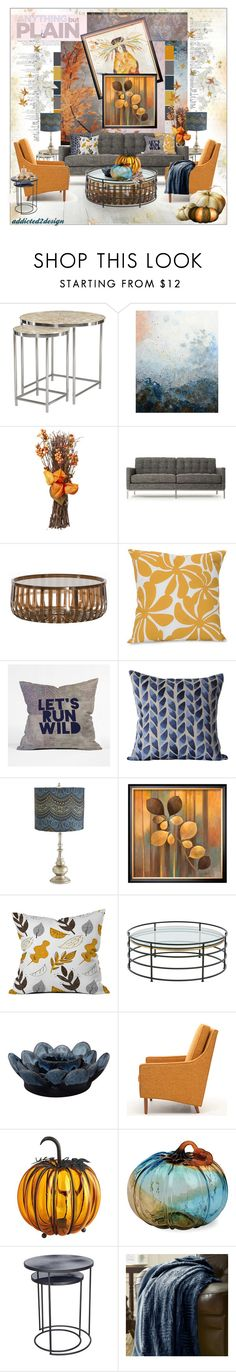 """..Cool Tones✨"" by addicted2design ❤ liked on Polyvore featuring interior, interiors, interior design, home, home decor, interior decorating, Marlene Sanaye Yamada, Thrive, Kartell and Dot & Bo"