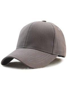 e060e0b2f6552 Tongshi Moda Unisex Plain Snapback Hats Hip-Hop ajustable Gorra de béisbol  (Gris claro). Accessories For Women Trendy Fashion Styles Online Shopping