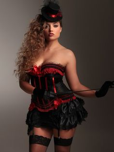 Steampunk Clothing, Costumes, and Fashion - Lace Trim Bustle $24.95   #Steampunk #Halloween #costume
